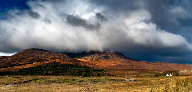 The red mountains of Skye.