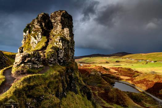 A natural ruin.