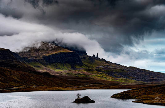 A Skye cloud show.