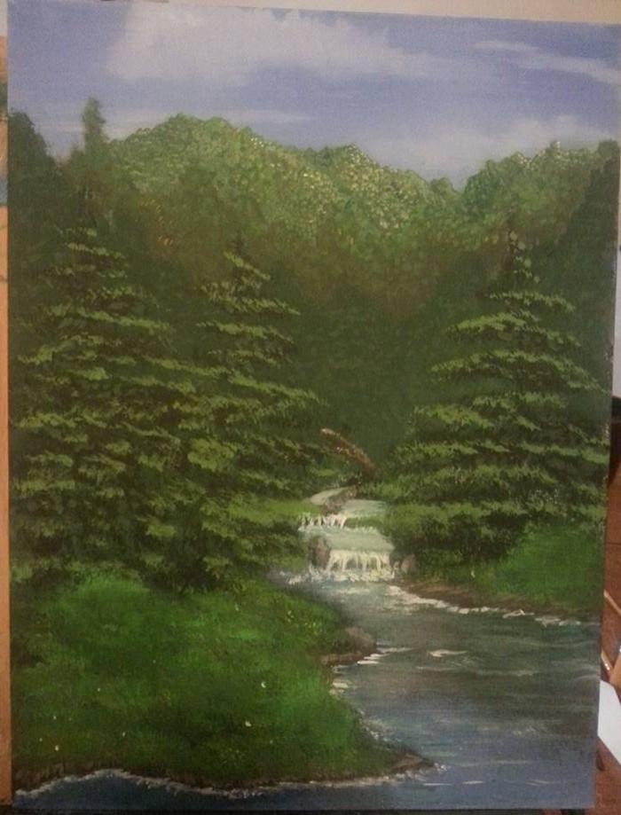 Peaceful Stream by ArtworkbyDanielWard
