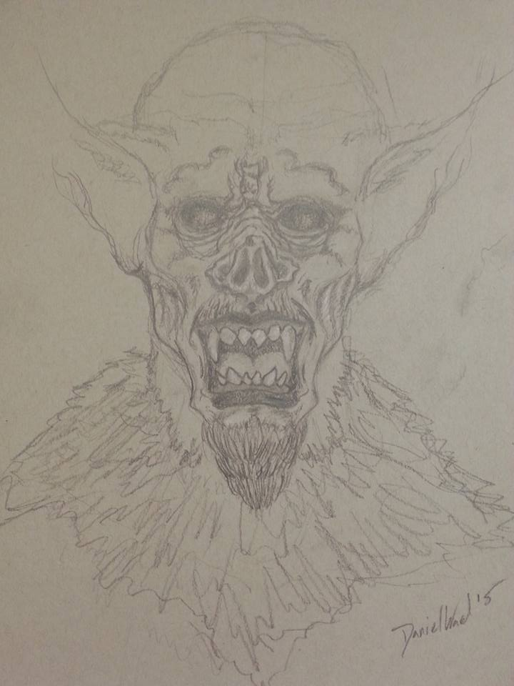 Vampire by ArtworkbyDanielWard