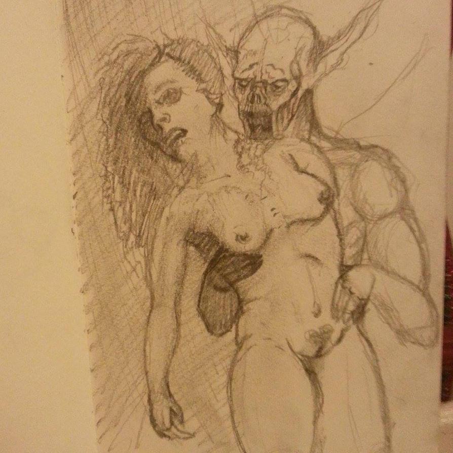 Beauty and the Beast Vampire by ArtworkbyDanielWard