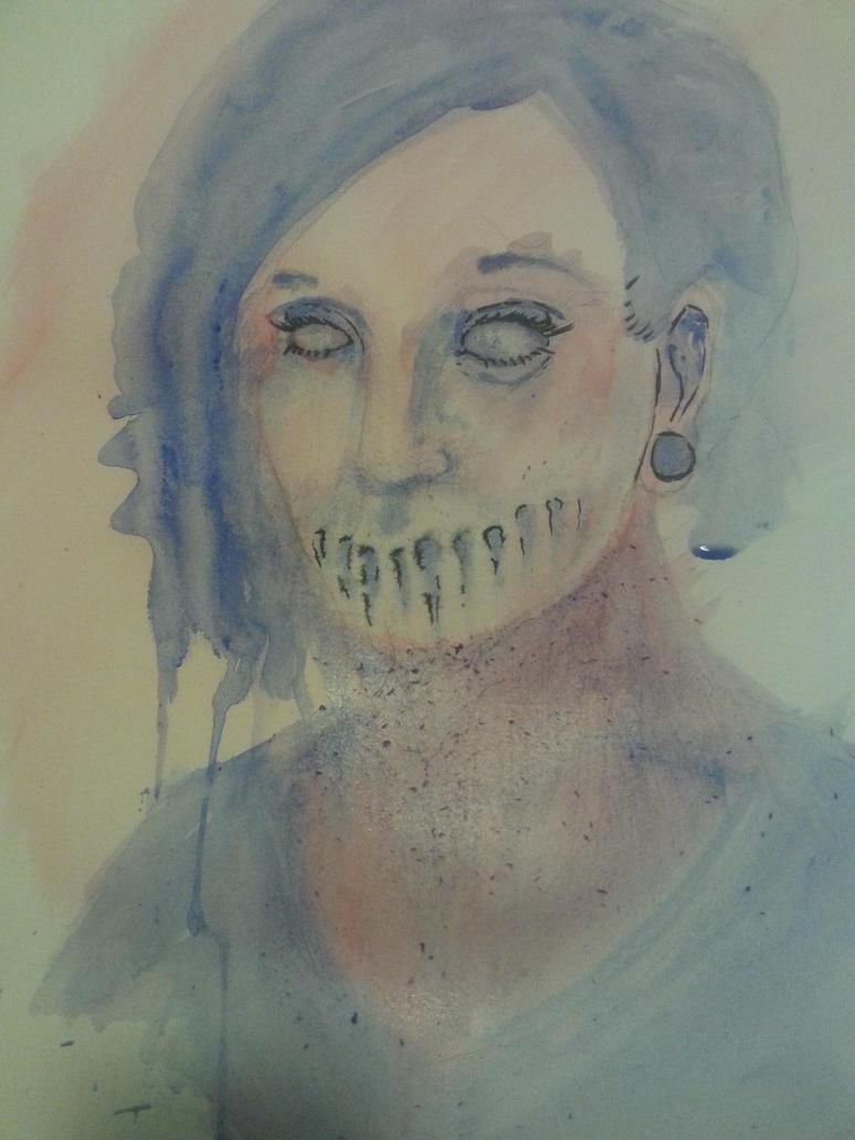 Her Eyes Cure The Venom She Speaks by ArtworkbyDanielWard