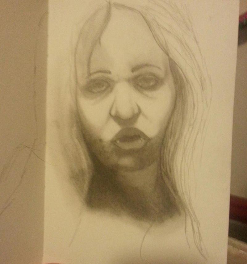 Vampiress (WIP) by ArtworkbyDanielWard