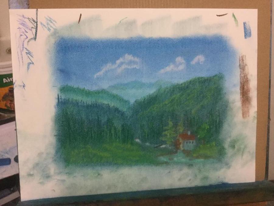 Smoky Mountain Mill by ArtworkbyDanielWard