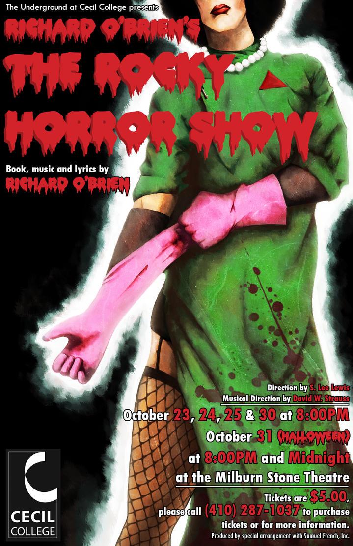 rocky horror poster design by emumford on deviantart. Black Bedroom Furniture Sets. Home Design Ideas