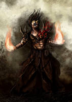 Sarkhan the Mad by kaio89