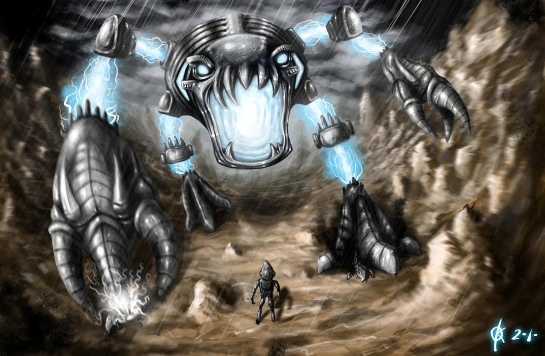 Arcbound Ravager by kaio89