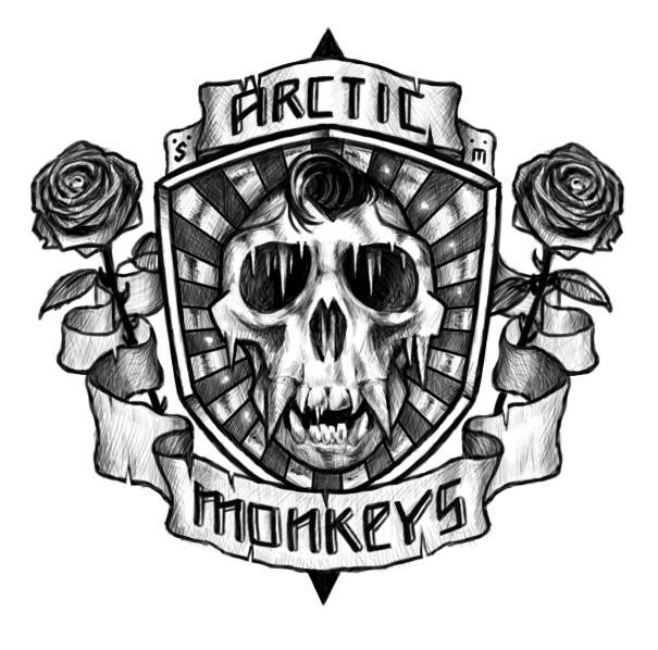 Arctic Monkeys Logo By Kaio89 On Deviantart