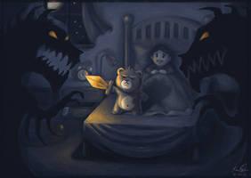 Blake the Teddy by kaio89