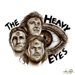The Heavy Eyes by kaio89