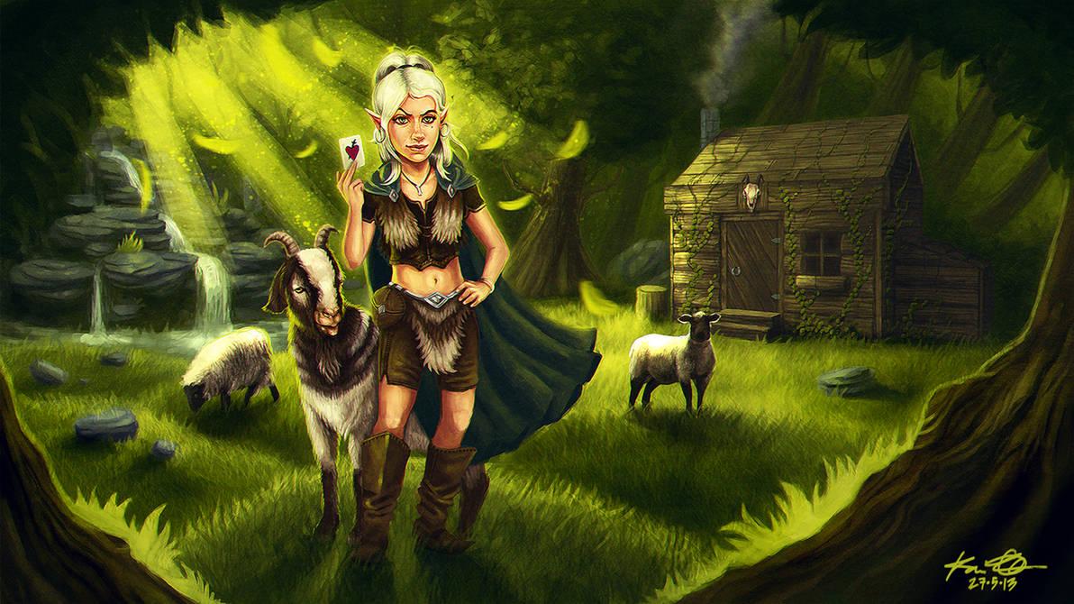 Heartbreaker elf girl by kaio89