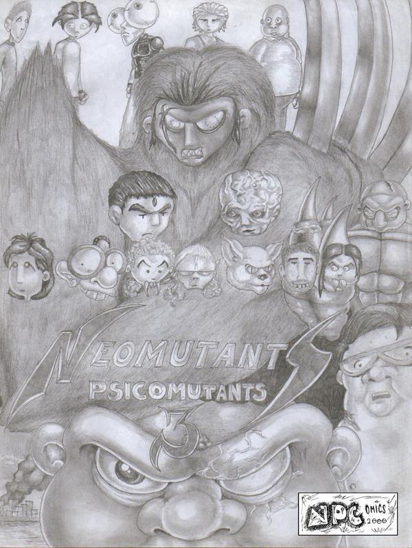 Psicomutants 3 by JPCComics