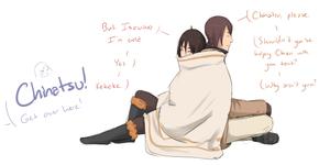 :HLV: Gettin' up in his cloak