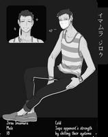 [J-H] Jirou Imamura by kii-wi