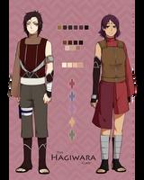 The Hagiwara Clan by kii-wi