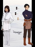 The Honetani Clan by kii-wi