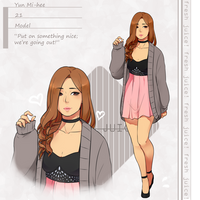 FRESH JUICE! Yun, Mi-hee : Model by kii-wi