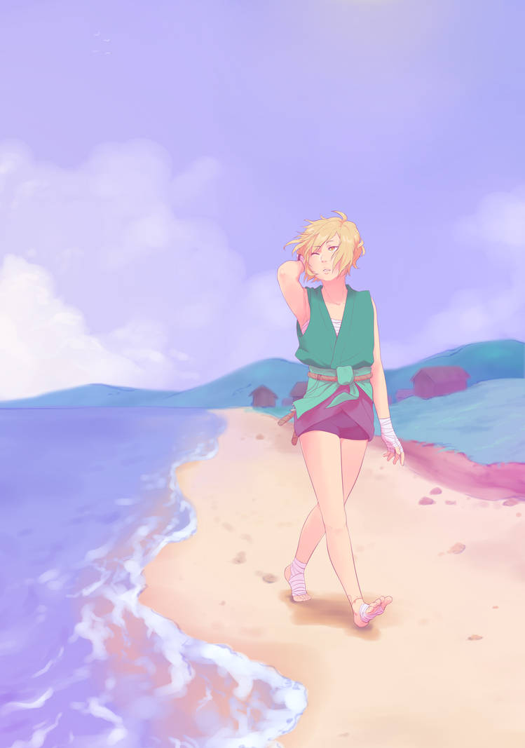 [TG] Down by the sea shore by kii-wi