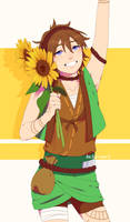 [AT] Sunflower, sunflower by kii-wi