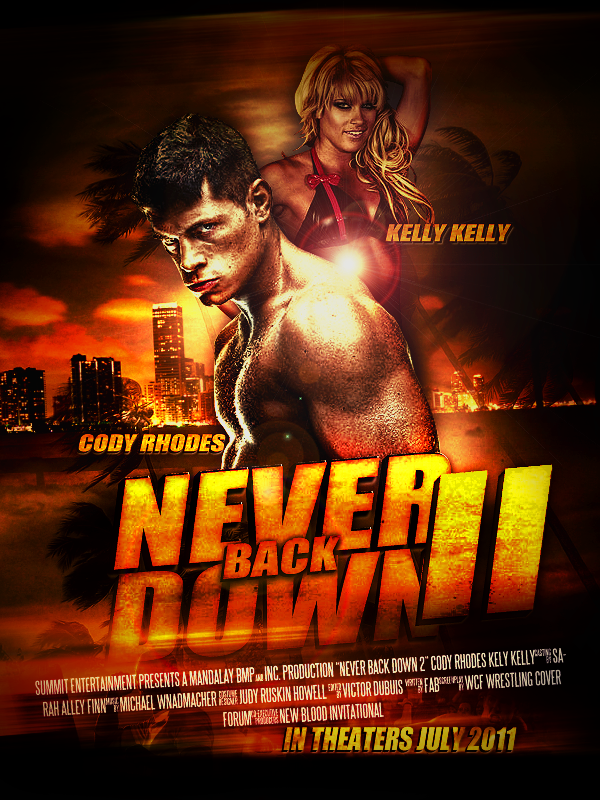 NEVER BACK DOWN WRESTL...
