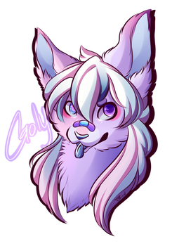 [Finished Commission] Goly Digital Badge!