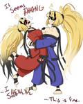 Mirrors Part 4: Oni-Chan Versus Oni-Chan by KaylieKo