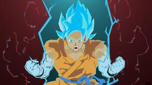 Super Saiyan Blue Goku (Kaio-Ken, Times 10!)