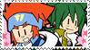 Kyo x Ginga stamp by ILikeToast911