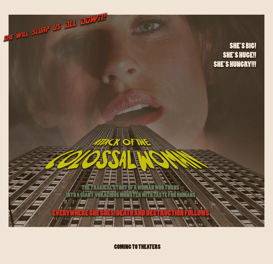 Attack of the colossal woman by vonAbend