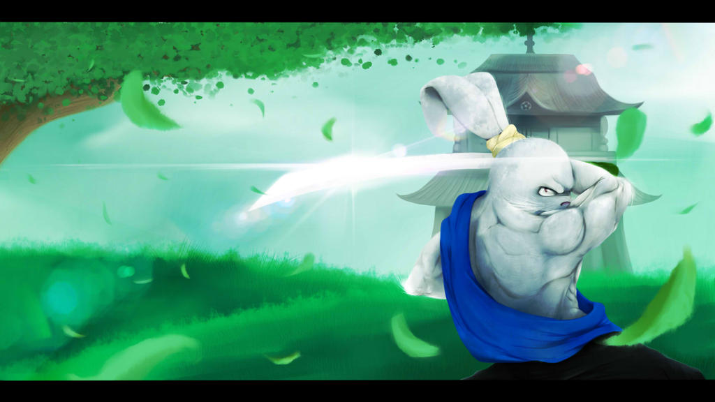 Usagi Yojimbo by NinjaTertel