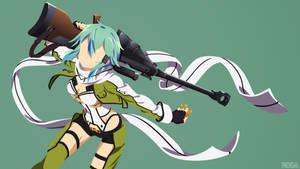Asada Shino | Sinon | Sword Art Online