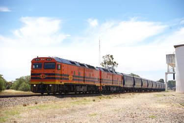 Grain Train Mallala by TheLoneSeeker