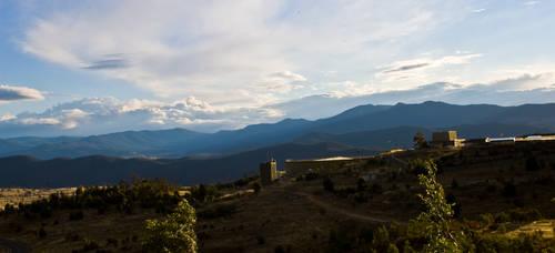 Mt Stromlo Complex by TheLoneSeeker