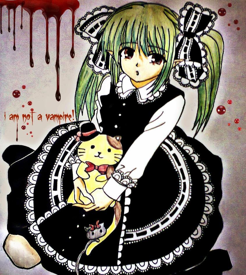 anime girl by Madhurupa