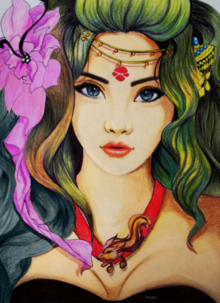 The dragon princess by Madhurupa