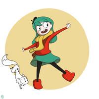 Hilda by Reddoushirousagi