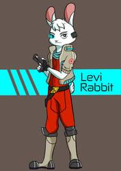 Levi Rabbit by Reddoushirousagi