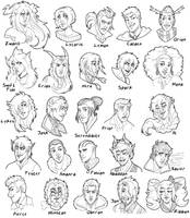 Raffle Heads