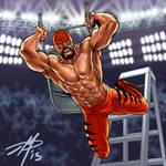 wrestling dude