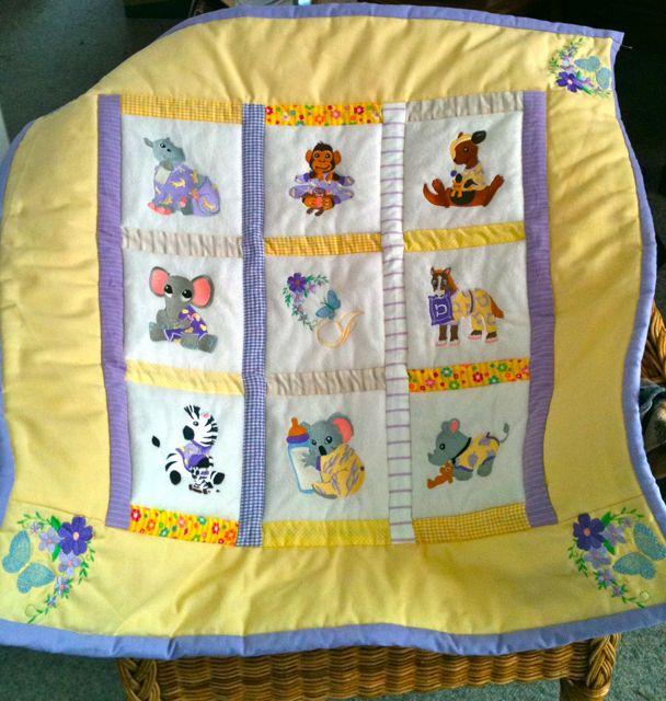 Baby animal quilt by Derizann on DeviantArt