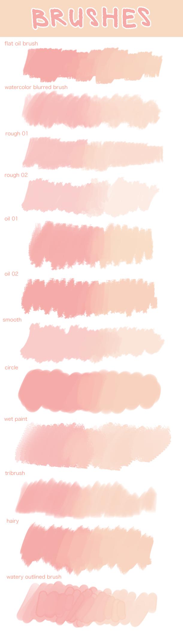 Clip Studio Paint Brushes Deviantart