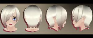 | 3D Model | Emo Edgy Commision | Aoi Base |
