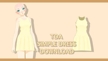 | MMD | Outfit | Simple Dress Download |