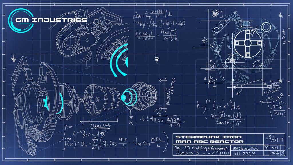 Steampunk Mock Blueprints by gmowat on DeviantArt