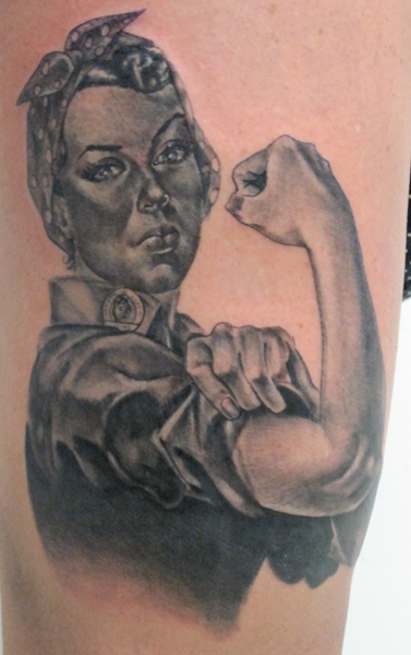 Rosie The Riveter By Michaelbrito