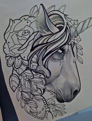 unicorn by michaelbrito