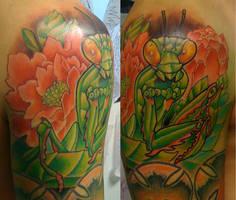 mantis done by michaelbrito