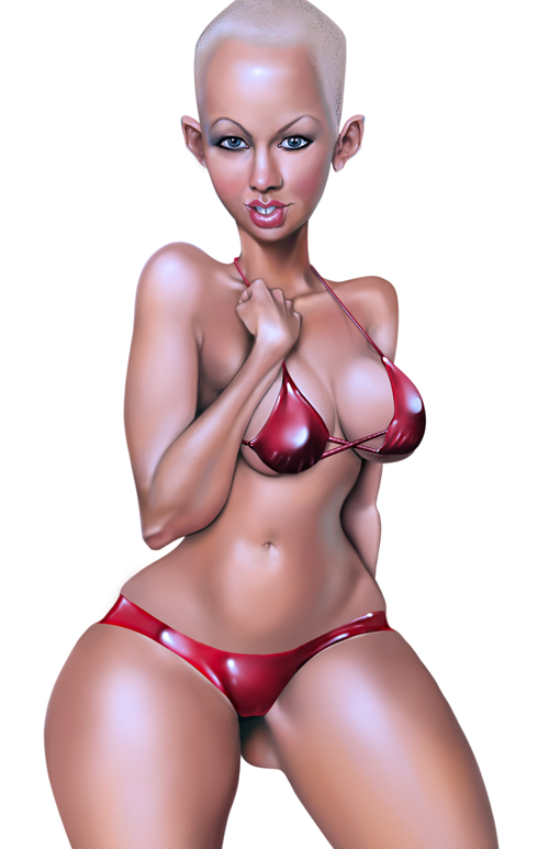 amber rose by michaelbrito