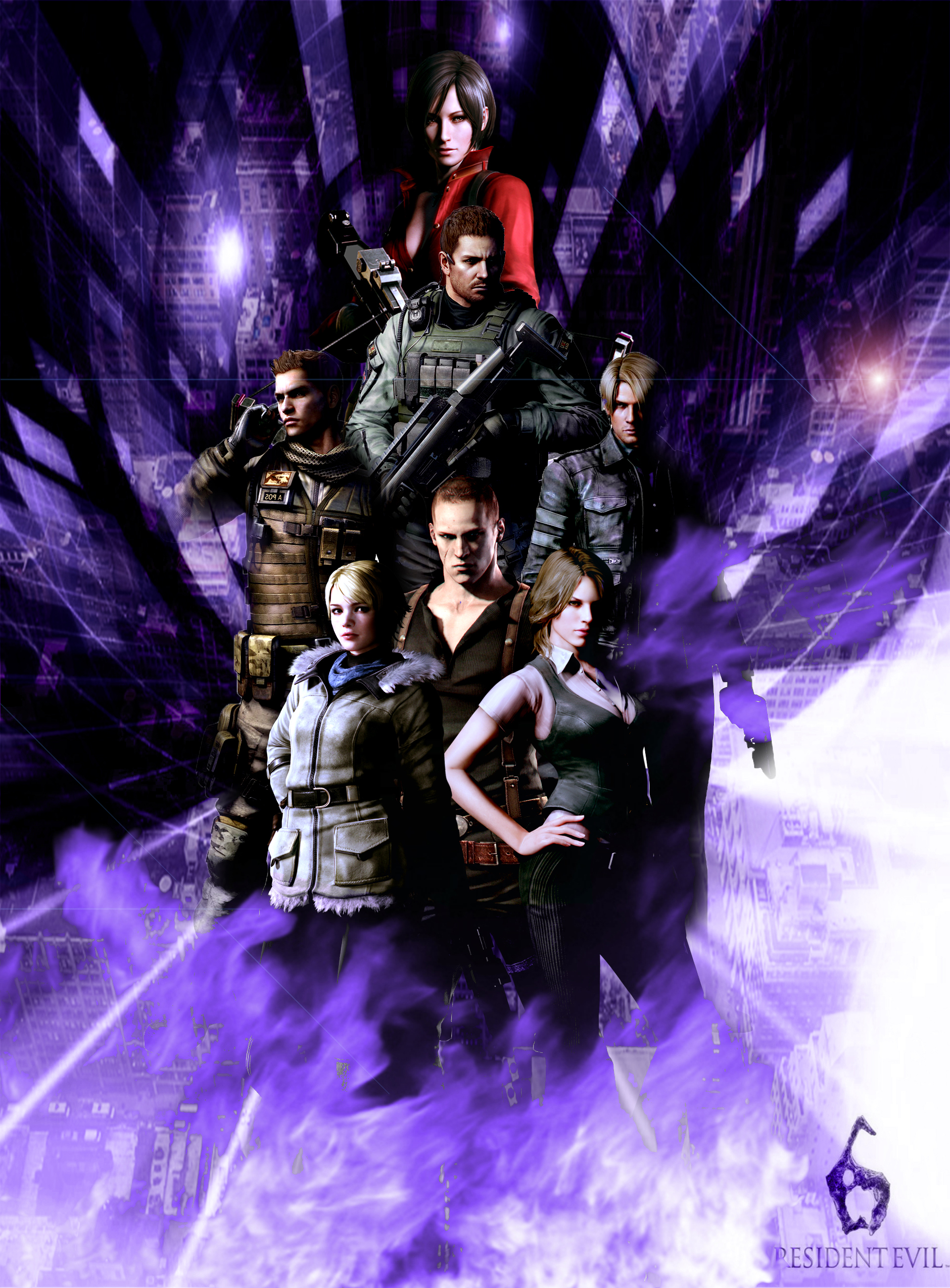 Resident Evil 6 Wallpaper By Germanwallpaper On Deviantart